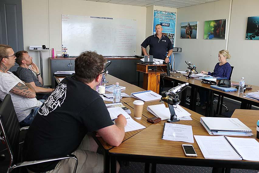 ADAS Onshore Supervisor Course commences