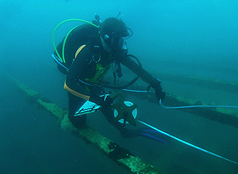 ADAS Part 1 diving wreck survey