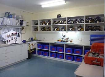 PDTA Equipment Room
