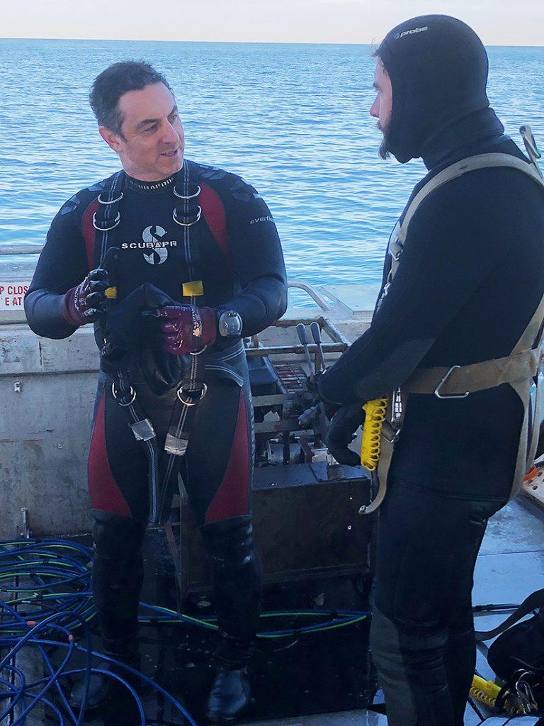 ADAS Onshore Diving Supervisor students