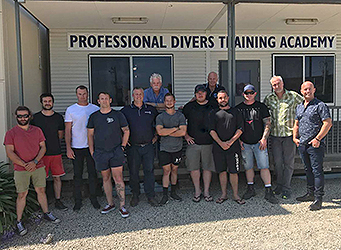 Dive Supervisor Course students