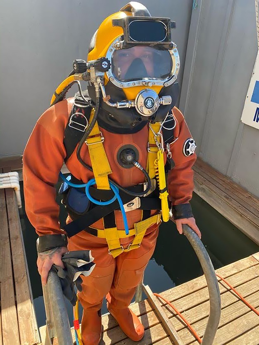 ADAS Part 2 contaminated diving equipment