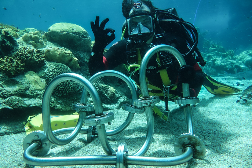 Part 1 Restricted Occupational Diving student